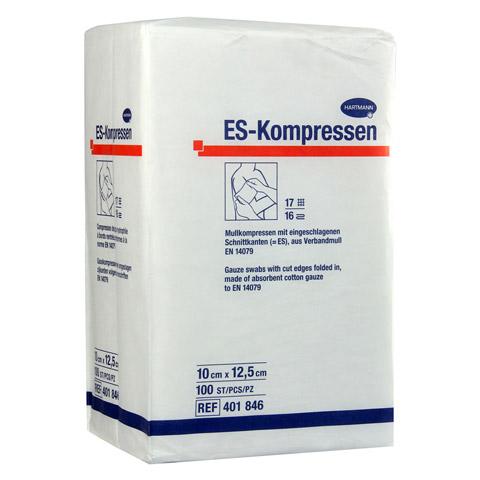 ES-KOMPRESSEN unsteril 10x12,5 cm 16fach 100 Stück