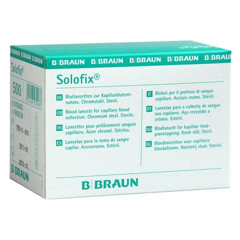 SOLOFIX Blutlanzetten 500 Stück