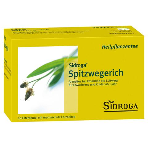Sidroga Spitzwegerich Tee 20 Stück