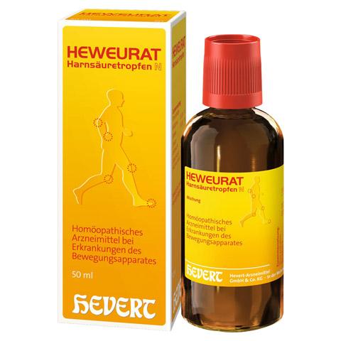 Heweurat Harnsäuretropfen N 50 Milliliter N1