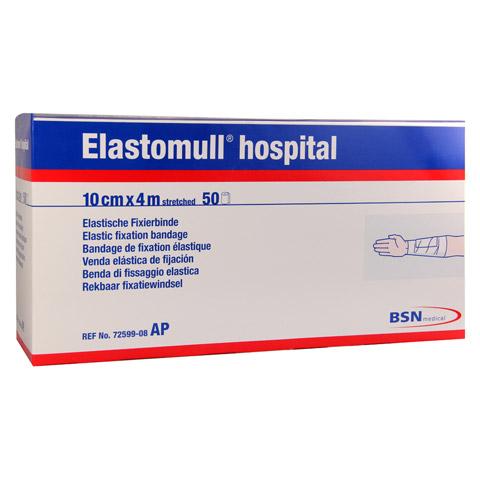 ELASTOMULL hospital 10 cmx4 m elast.Fixierb.weiß 50 Stück