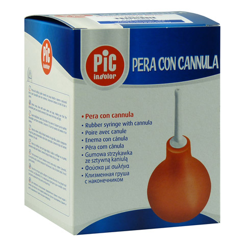 KLISTIERSPRITZE 140 ml birnförmig 1 Stück