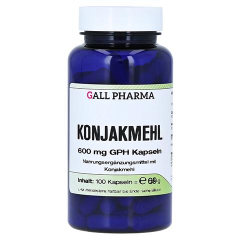 KONJAKMEHL 600 mg Kapseln 100 Stück