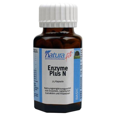 NATURAFIT Enzyme Plus N Kapseln 75 Stück