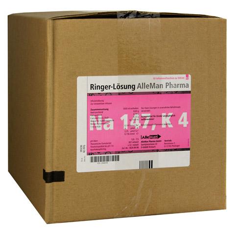 RINGER LÖSUNG Plastik 10x500 Milliliter N2
