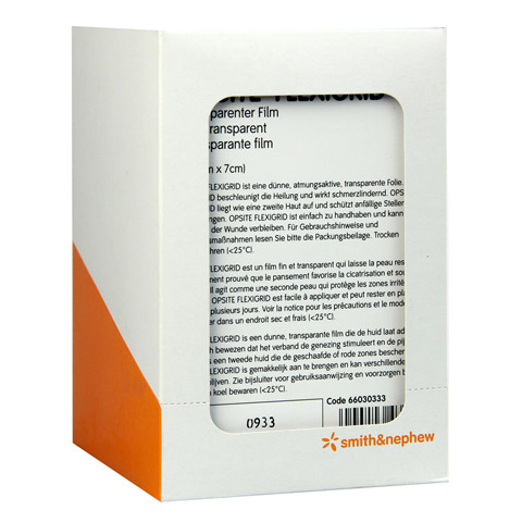 OPSITE Flexigrid transp.Wundverb.6x7 cm steril 6x5 Stück