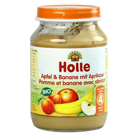 HOLLE Apfel & Banane mit Aprikose 190 Gramm