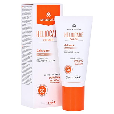 HELIOCARE Color Gelcream brown SPF50 50 Milliliter