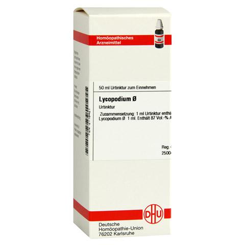 LYCOPODIUM Urtinktur D 1 50 Milliliter N1
