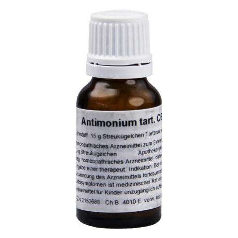ANTIMONIUM TARTARICUM C 6 Globuli 15 Gramm N1