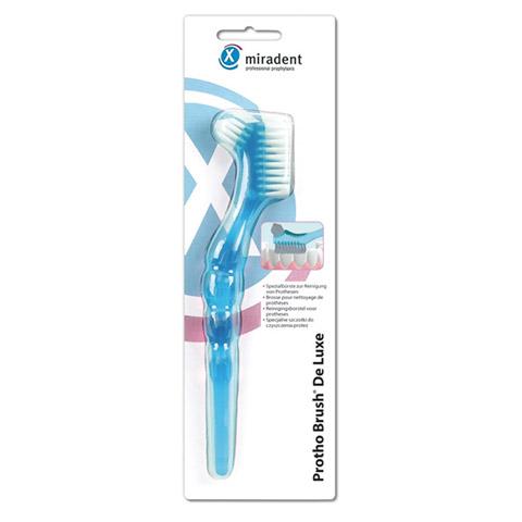 MIRADENT Prothesenbürste Protho Brush blau trans. 1 Stück