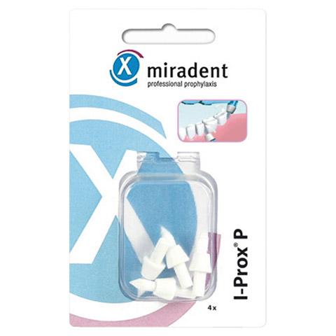 MIRADENT Ersatz Spitzbürsten I-Prox P weiß soft 4 Stück