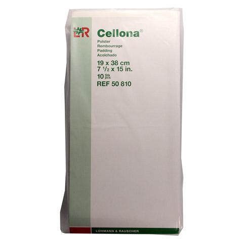 CELLONA Polster 19x38 cm 10 Stück