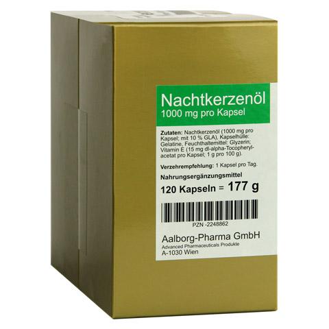 NACHTKERZENÖL 1000 mg pro Kapsel 240 Stück
