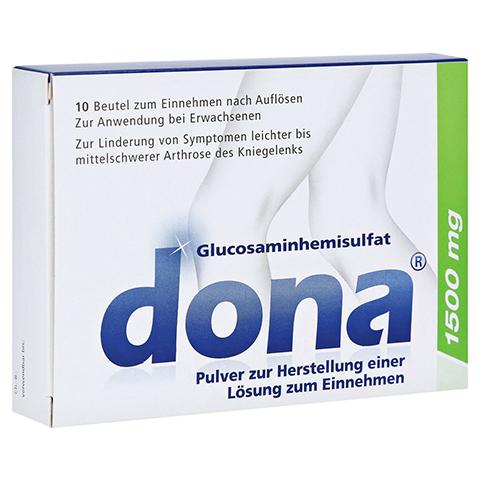 Dona 1500mg Pulver z. Herstellung einer Lösung z. Einnehmen 10 Stück