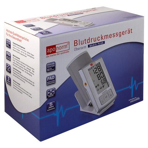 APONORM Blutdruck Messgerät Basis Plus Oberarm 1 Stück
