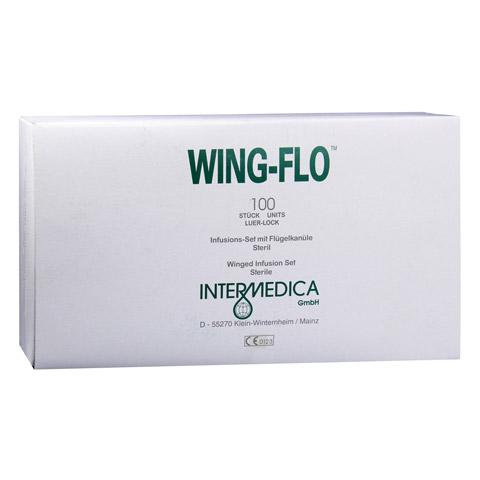 WING FLO Flügelkanüle 23 G 100 Stück