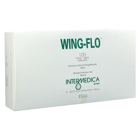 WING FLO Flügelkanüle 21 G 100 Stück