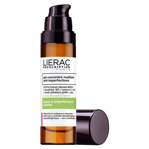 LIERAC Prescription mattierendes Gel-Konzentrat 50 Milliliter