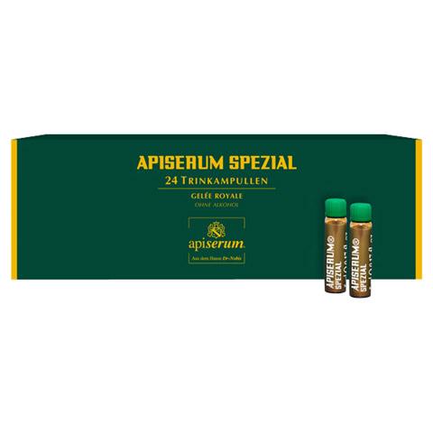 APISERUM Spezial Trinkampullen mit Gelee Royale 24x5 Milliliter