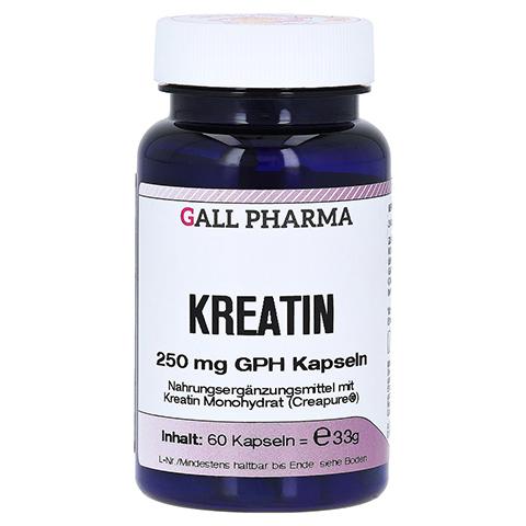 KREATIN GPH 250 mg Kapseln 60 Stück