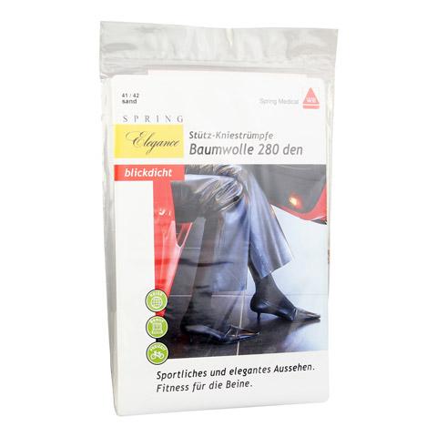 SPRING ELEGANCE 280den AD 41/42 BW Damen sand 2 Stück