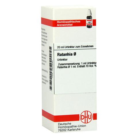 RATANHIA Urtinktur D 1 20 Milliliter N1