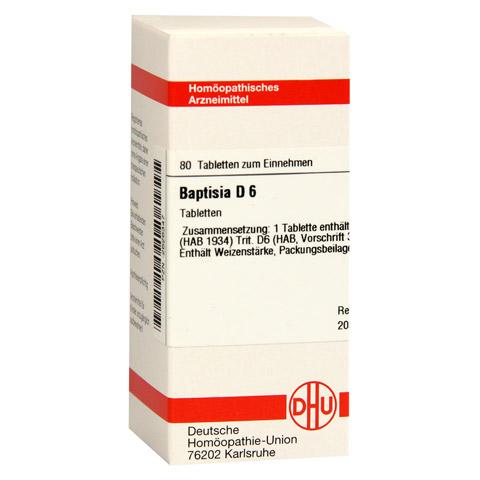 BAPTISIA D 6 Tabletten 80 Stück N1