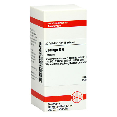 BADIAGA D 6 Tabletten 80 Stück N1