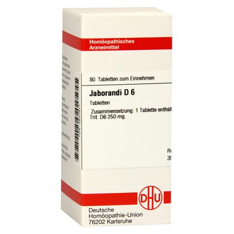 JABORANDI D 6 Tabletten 80 Stück N1