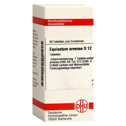 EQUISETUM ARVENSE D 12 Tabletten 80 Stück N1
