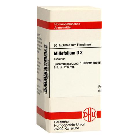 MILLEFOLIUM D 3 Tabletten 80 Stück N1