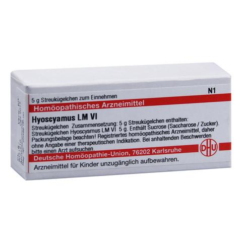 LM HYOSCYAMUS VI Globuli 5 Gramm N1