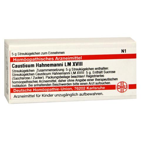 LM CAUSTICUM Hahnemanni XVIII Globuli 5 Gramm N1