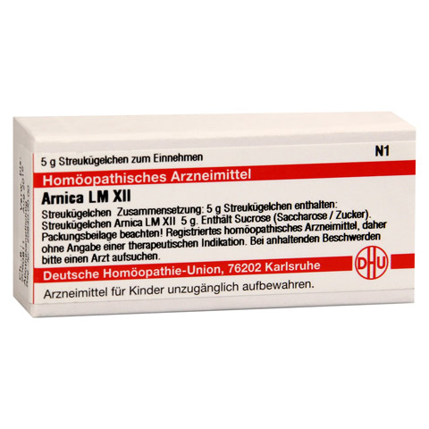 LM ARNICA XII Globuli 5 Gramm N1