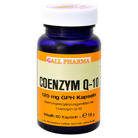 COENZYM Q10 120 mg GPH Kapseln 60 Stück