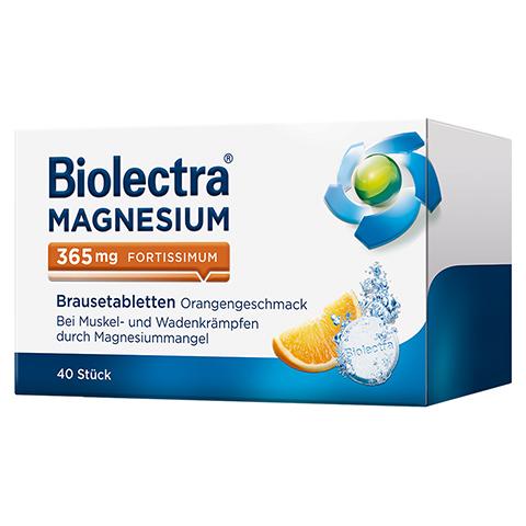 BIOLECTRA Magnesium 365 fortissimum Orange Br.Tab. 40 Stück