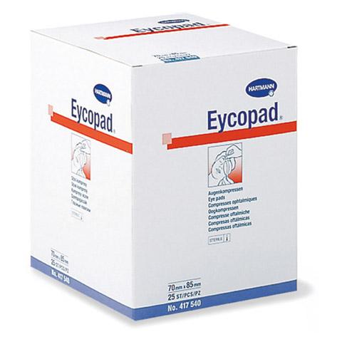 EYCOPAD Augenkompressen 70x85 mm steril 25 Stück