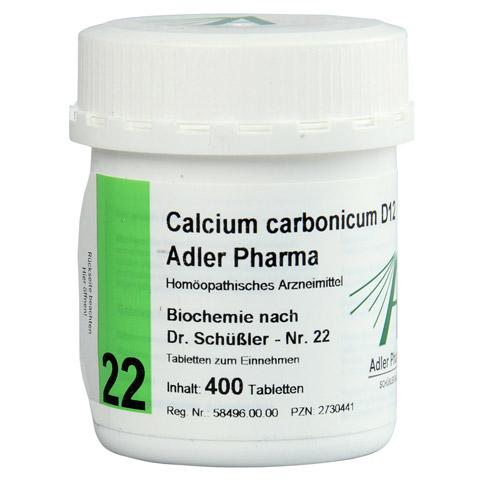 BIOCHEMIE Adler 22 Calcium carbonicum D 12 Tabl. 400 Stück