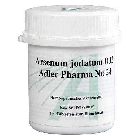BIOCHEMIE Adler 24 Arsenum jodatum D 12 Tabletten 400 Stück