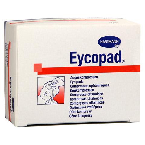 EYCOPAD Augenkompressen 70x85 mm unsteril 5 Stück