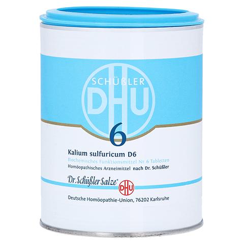 BIOCHEMIE DHU 6 Kalium sulfuricum D 6 Tabletten 1000 Stück