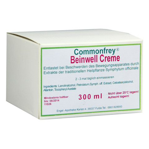COMMONFREY Beinwell Creme 300 Milliliter