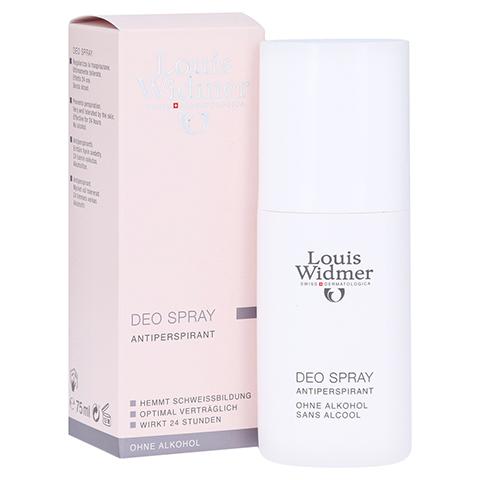 WIDMER Deo Spray leicht parfümiert 75 Milliliter