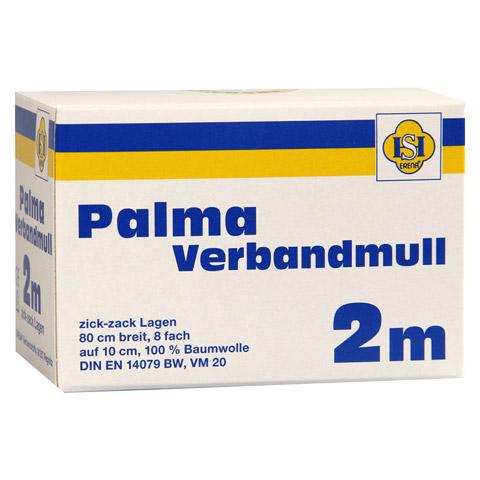 PALMA Verbandmull 80 cm 2 m zickzack Lagen 1 Stück