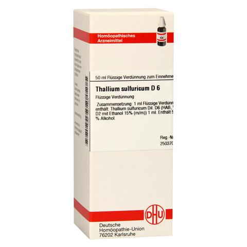 THALLIUM SULFURICUM D 6 Dilution 50 Milliliter N1