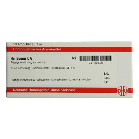 HELLEBORUS D 6 Ampullen 10x1 Milliliter N1