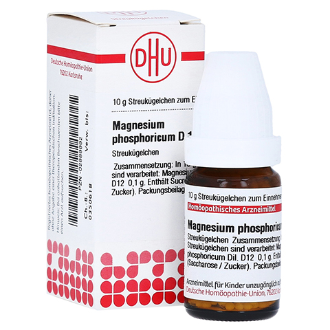 MAGNESIUM PHOSPHORICUM D 12 Globuli 10 Gramm N1