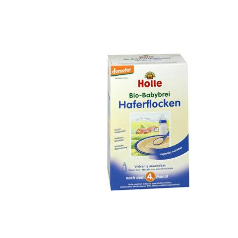 HOLLE Bio Babybrei Haferflocken 250 Gramm