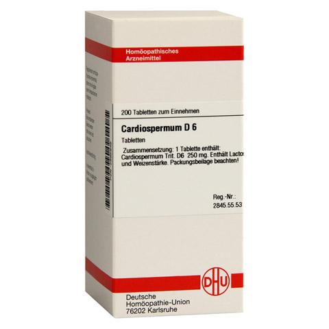 CARDIOSPERMUM D 6 Tabletten 200 Stück N2